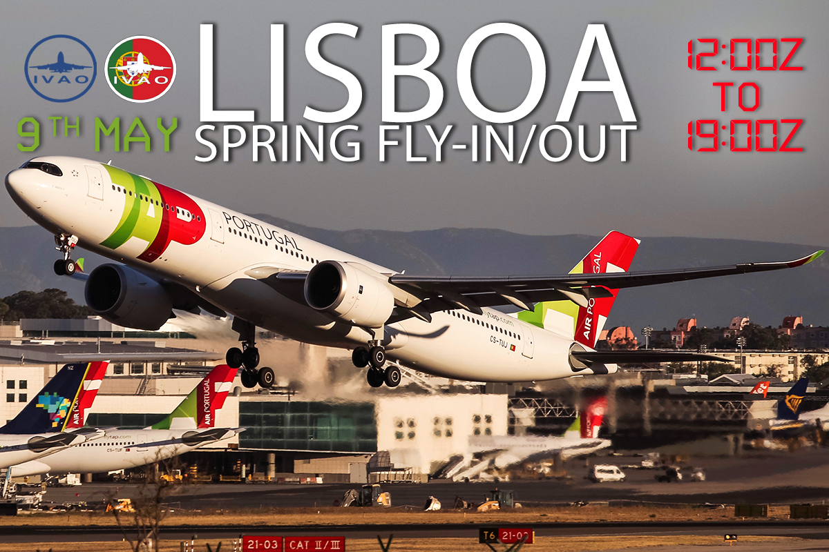 [HQ+PT] Lisboa Spring Fly-In/Out